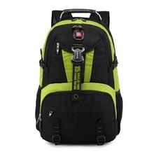 حقائب كروس سويسرية متعددة الوظائف للسفر حقيبة لاب توب ماك بوك 18 بوصة حقيبة مدرسية مقاومة للماء للمشي لمسافات طويلة حقيبة سفر