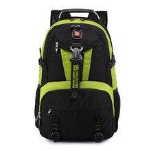 """Crossten Swiss Multifunctional Travel Bags Laptop Macbook Backpack 18"""" Schoolbag Waterproof Hiking travel bag"""