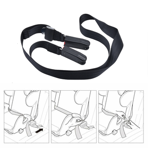 SPEEDWOW Auto Car Child Safety Seat Isofix/Latch Soft Interface Connecting Belt Isofix Soft Belt Anchor Holder