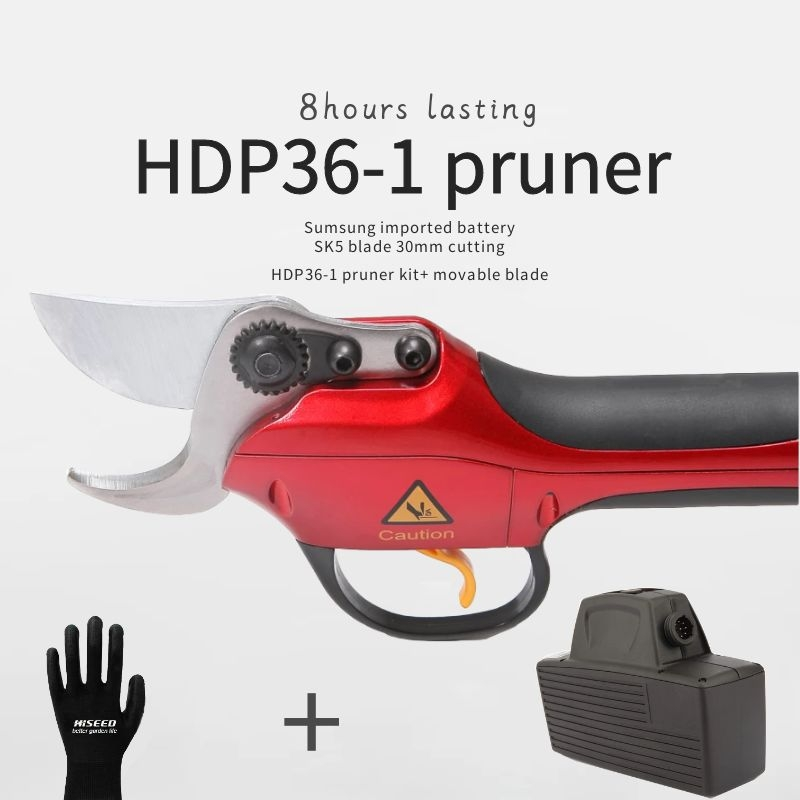 30mm Samsung Battery Orchard Electric Scissors Professional Li- IonTree Pruning Shears 6-8 Hours Lasting