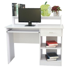 Two Colors General Style Modern E1 15MM Chipboard Computer Desk Computer Table Office