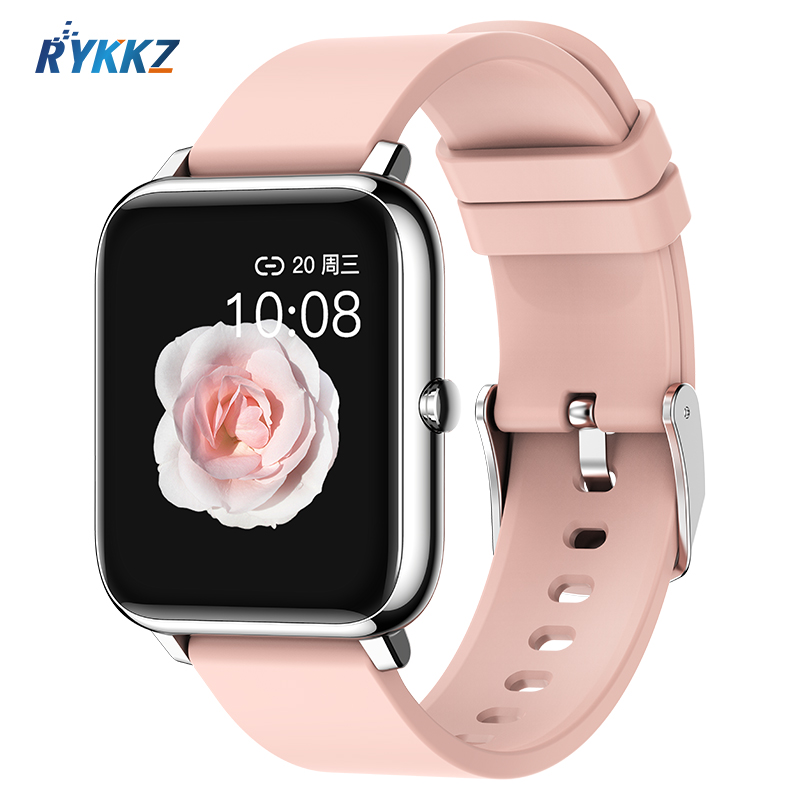 P2 2020 Smart Watch Waterproof Fitness Sport Watch Heart Rate Tracker Call Message Reminder Bluetooth Smartwatch For Android iOS