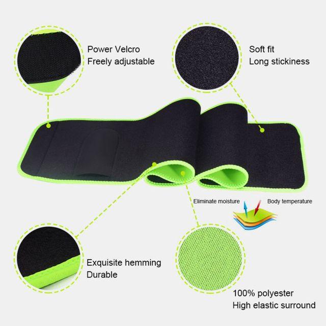 Fitness Running Waist Belt Shaper Warm Yoga Belt Breathable Sweat Protection Home Supplies 5