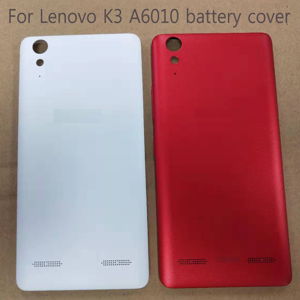 For <font><b>Lenovo</b></font> A6010 back <font><b>Battery</b></font> <font><b>Cover</b></font> Official Original <font><b>Cover</b></font> For <font><b>Lenovo</b></font> <font><b>K3</b></font> With Power Volume Buttons Housing Replacement Parts image