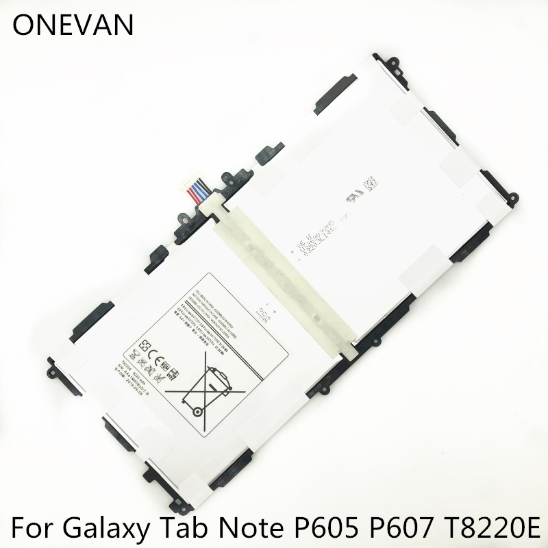 ONEVAN Original T8220E <font><b>Battery</b></font> For <font><b>Samsung</b></font> GALAXY Note 10.1 Tab Pro P600 P601 <font><b>P605</b></font> P607 SM-T520 Tablet <font><b>Batteries</b></font> With tools image