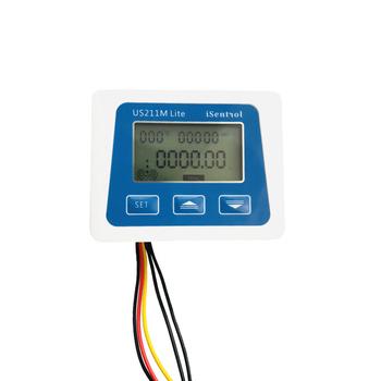 US211M Lite cyfrowy miernik przepływu 5V czytnik przepływu kompatybilny ze wszystkimi naszymi efekt halla czujnik przepływu wody i miernik ciśnienia tanie i dobre opinie Ultisolar CN (pochodzenie) Hydraulika 0 00--9999 99 Mężczyzna BSPP Gwint