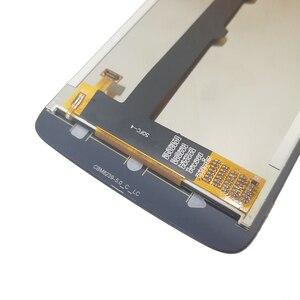 """Image 3 - 5.0 """"LCD için çerçeve ile Motorola Moto C XT1750 XT1754 XT1755 ekran dokunmatik ekran sensörü sayısallaştırıcı meclisi değiştirme yeni"""