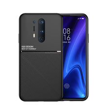 Luxury PU Leather Phone Case For Oneplus 8 Pro Case Shockproof Back Cover For Oneplus 7 7T Pro  Cover Soft TPU Cases