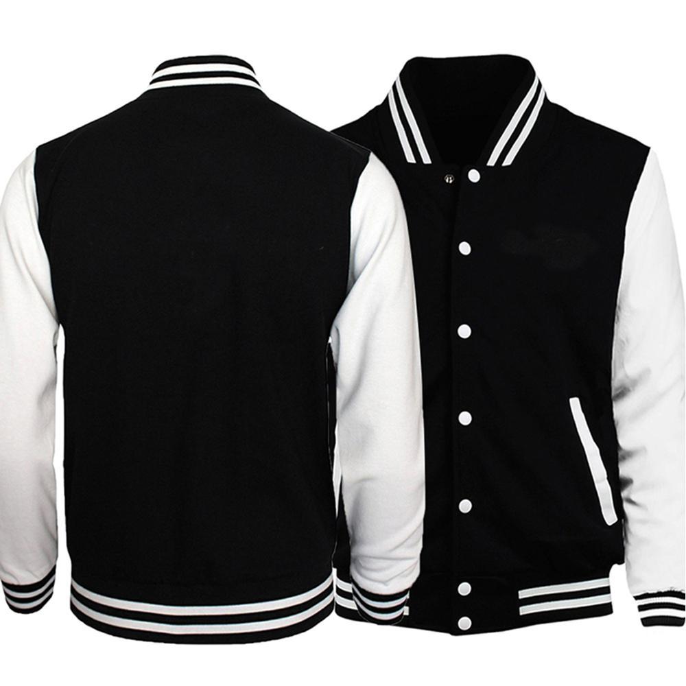 2019 New Arrival Baseball Jackets Men Hip Hop Men Jacket Brand Clothing Slim Tracksuit Men Bodywarmer Fashion Coat