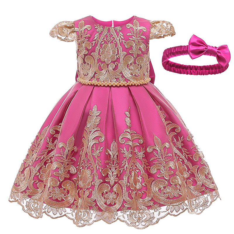 Kids Baby Girls Lace Child Toddler Casual Dress Birthday Party Dresses Clothes