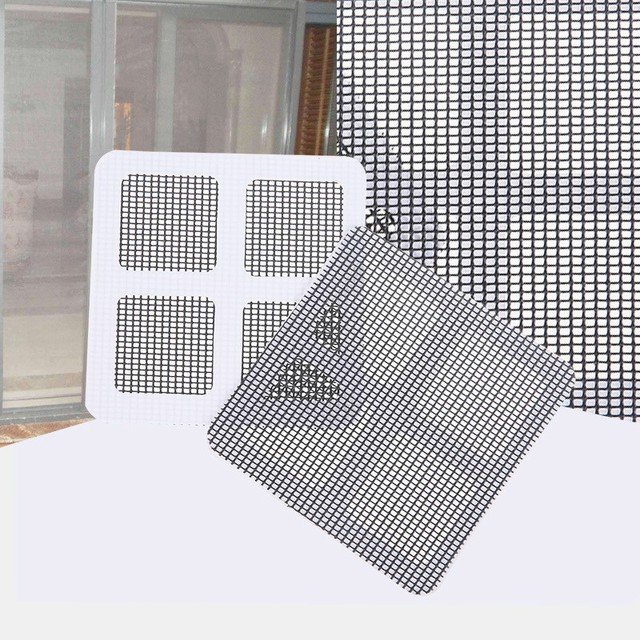 1/3Pc Durable Anti-Insect Fly Bug Door Window Mosquito Screen Net Repair Tape Patch Self Adhesive Repair Tape Window Repair Mesh