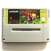 Zombies Ate My Neighbors 16bit  game cartidge EU Version for pal console