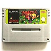 Zombies Ate benim komşular 16bit oyun kartuşu için ab versiyonu pal konsolu