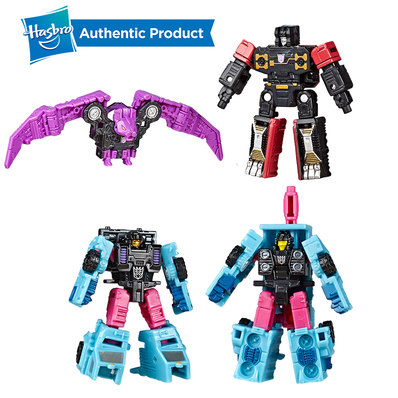 Hasbro Transformers Toys Generations War For Cybertron Siege Micromaster WFC-S47 Ratbat Rumble BATTLE SQUAD WFC-S46 Spy Patrol