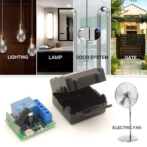 Image 3 - Universal Remote Control DC 12V 1CH rf 433 Relay Receiver and Transmitter for door Controller\ Remote Light Switch\ DIY remotes