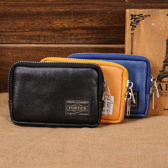 2020 New product Head porter tide brand men and women small wallet waterproof small bag coin purse coin bag card bag