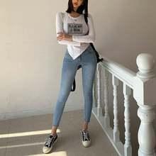 Женские пикантные джинсовые брюки hunter wish с высокой талией