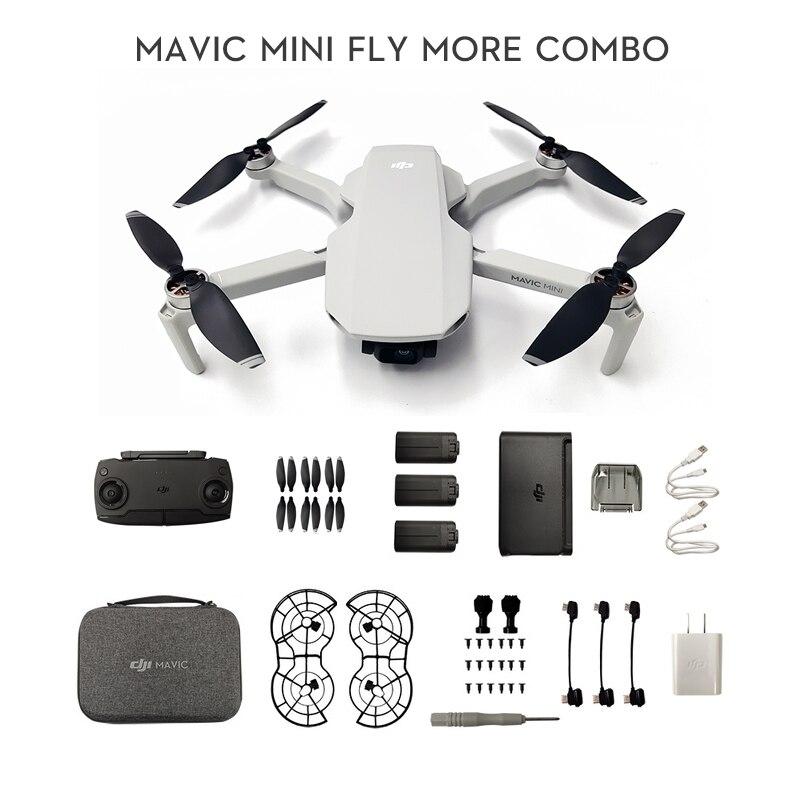 Em estoque dji mavic mini drone com câmera 2.7k é mt1ss5 fcc versão tempo de vôo 30 minutos original novo
