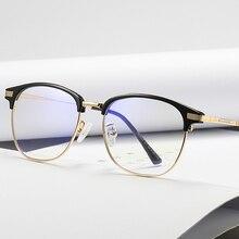 Lumière bleue bloquant les lunettes femmes clair lentille ordinateur Protection des yeux lunettes lunettes
