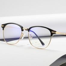 Niebieskie światło okulary blokujące kobiety przezroczyste soczewki komputerowe okulary ochronne okulary ochronne