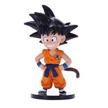Figuras de acción de Dragon Ball DBZ, Son Goku, Super Saiyan Dende, modelo de 8cm, PVC de Estatua de juguete de colección, regalo