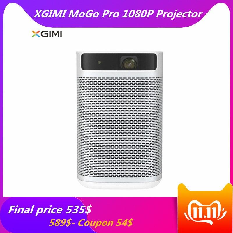 XGIMI MoGo Pro Smart 1080P Portable Projetor DLP Android 9.0 3D Home divertissement cinéma projecteur Support 2 K/4 K