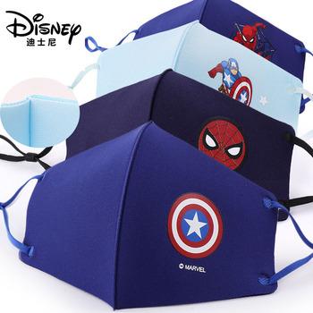 4 sztuk zestaw Disney Marvel Spiderman dzieci twarzy Maks Marvel mrożone gąbka anti-kurz maski ochronne dla chłopców dziewcząt zabawki 3-12Y tanie i dobre opinie Model Unisex Jeden rozmiar disney marvel mask for 3-12 years Pierwsze wydanie 2-4 lat 5-7 lat 8-11 lat 6 lat 3 lat Wyroby gotowe