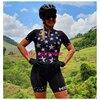 Xama pro equipe conjunto de ciclismo feminino pequeno macaco ciclismo camisa terno manga curta macacão triathlon roupas 11