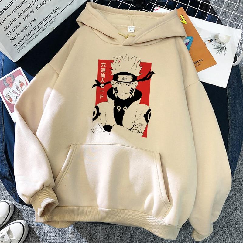 2021 Hot Japanese Anime Cool Hoodies Women Funny Cartoon Graphic Hoodie Cartoon Harajuku Unisex manga Sweatshirts Female 3