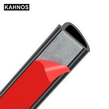 Joint en caoutchouc incliné de Type D pour voiture, garniture étanche, bande insonorisante disolation phonique