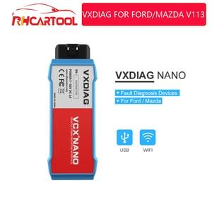 Image 1 - VXDIAG VCX NANO For Ford For Mazda OBD2 Car Diagnostic Tool 2 in 1 IDS V115 WiFi automo Obd2 Scanner PCM, ABS PK fvdi j2534