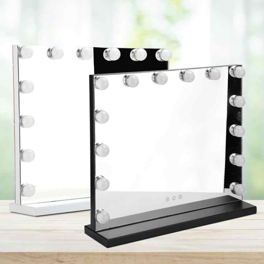 Timker Luces LED Kit de Espejo con 14 Bombillas regulables 3 Modos Ajustable de Color de Luz USB Luz Espejo Maquillaje,Tocador,Espejo,Ba/ño,Regalo 3000K-6500K Nueva actualizaci/ón