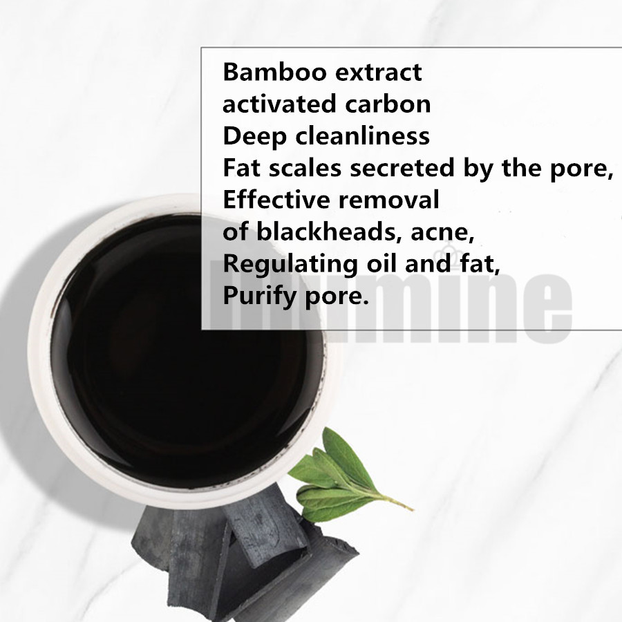 Peel Off Bamboo Charcoal Blackhead Mask Tearing Type 1000g Black Suction Nose Film Cleaning Acne - 4