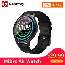 Vibro-reloj inteligente resistente al agua para hombre y mujer SmartWatch deportivo con control del ritmo cardíaco, Bluetooth 5, resistente al agua IP68 para Android e IOS