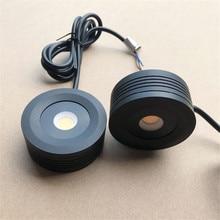 Приглушаемый светодиодный светильник COB для шкафа, круглая светодиодная подсветка для кухни, шкафа, витрины, гардероба, дома, 7 Вт