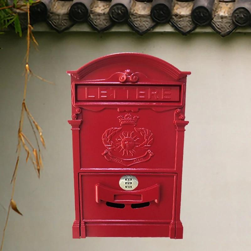 Postcard Metal Letterbox