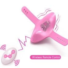 Vibromasseur portable avec télécommande pour adultes, stimulateur De clitoris, jouets pour femmes, masturbateur, ovni