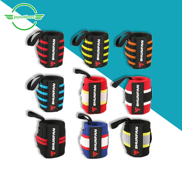 2 Adult Fitness Fitness Wristband Elastic Sweat Absorption Bracers Breathable Outdoor Sports Exercise Camping  Protection Belt 3
