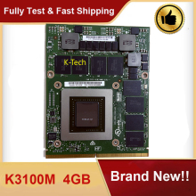 Brand New K3100M K3100M N15E-Q1-A2 Display Video Scheda Video Grafica 4G Per Il Computer Portatile DELL M6700 M6800 M6600 HP 8740W 8760W ZBOOK 17