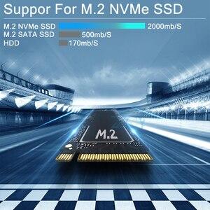 Image 4 - جهاز كمبيوتر صغير إنتل كور i5 8250U i7 7500U الكمبيوتر Windows10 2 * DDR4 M.2 SSD 8 * USB HDMI DP نوع C 2 * LAN واي فاي 4K HTPC مايكرو سطح المكتب NUC