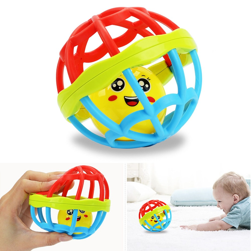 Baby Rattles Toy Fun Education Ball Ring Develop Intelligence Training Grasping Rattles Baby Toys 0-12 Months For Kids Gift