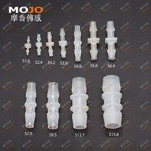 2020 Straght тип колючая вода фитинг разъемы PP материал OD: 1,6 мм-32 мм 10 шт./лот