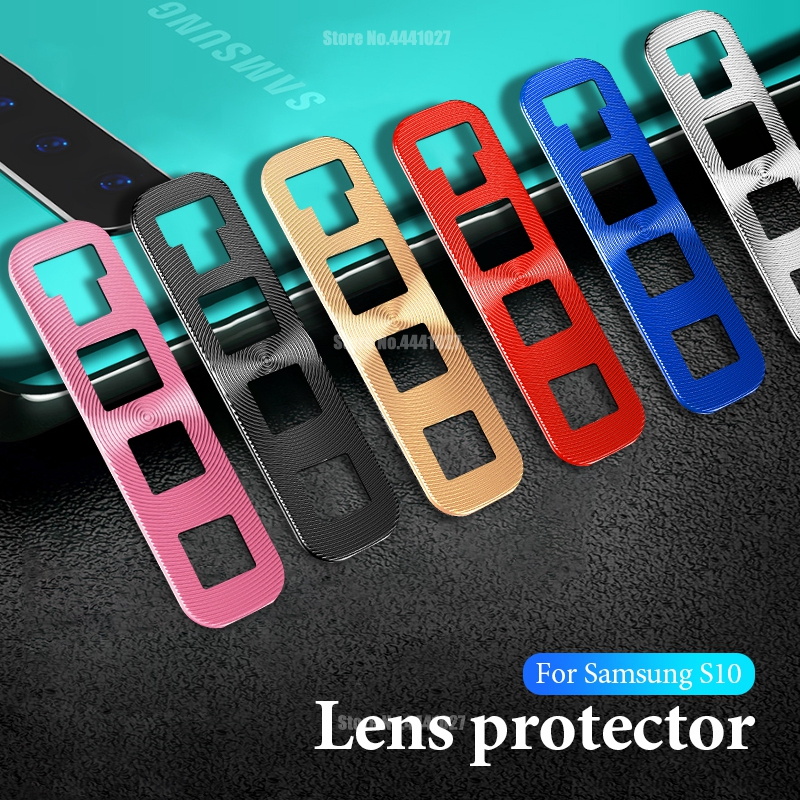 Camera Lens Protector Plating Metal Ring For Samsung Galaxy S10e S10 Plus S10 Protection Protective Cover Rings For Samsung S10E