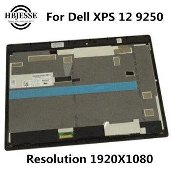 Pantalla táctil LCD de 12,5 pulgadas para Dell XPS 12 9250 FHD 1920X1080 pantalla táctil LED LCD montaje LQ125M1JW31