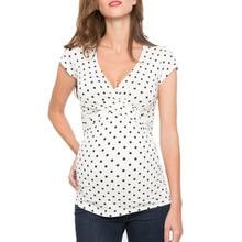 Fashion Mom Maternity Clothes Nursing Tops Breastfeeding Clothing for Pregnant Women T-shirts S-XXL