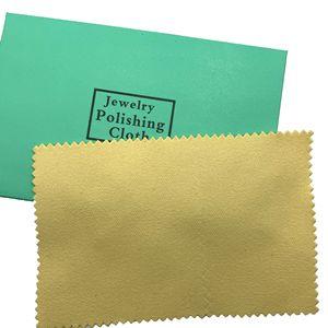 Image 5 - 100 шт. Серебряная Чистящая полировальная ткань посылка кой для протирания ювелирных изделий замши Maintenanc