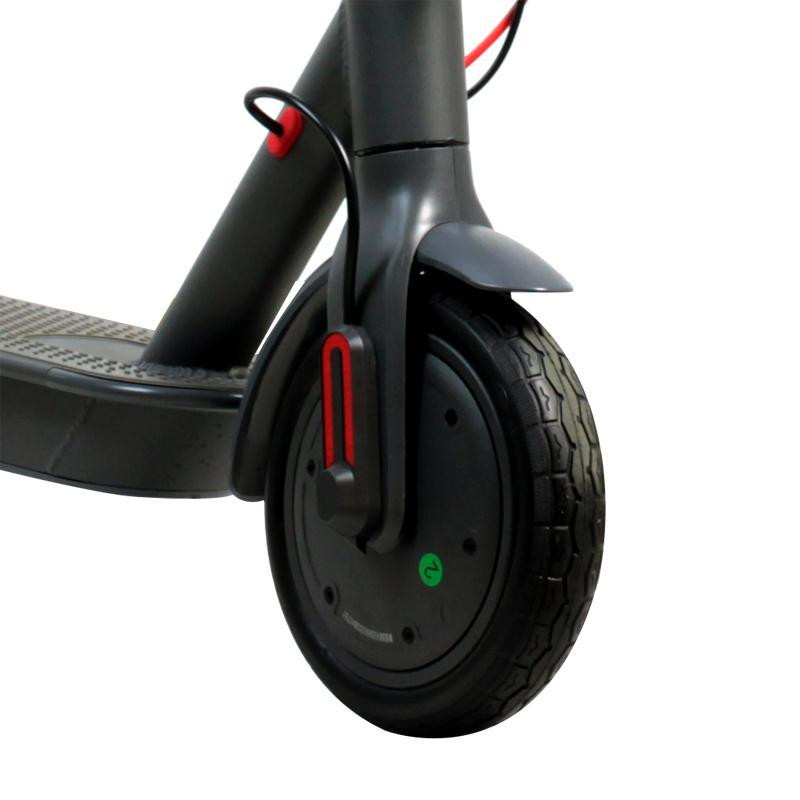 eu warehouse Adults Folding Electric Scooter 2 Wheel 500W Mini Foldable Kick e scooters 8.5inch Solid Tire App Function 25km/h