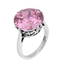 Настоящее кольцо из стерлингового серебра 925 пробы в стиле