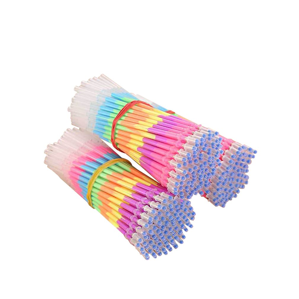 Ink Gel Pen Refill Neutral Pen Refill Refill Office School Supplies Rainbow Color