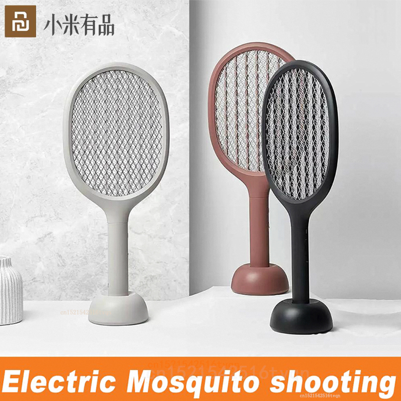 Xiaomi Solove P1 Household Multi-Function Vertical Electric Mosquito Swatter Handheld Fly Killer Insect MosquitoLamp